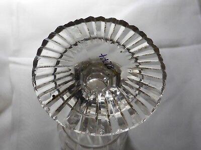 Kelchglas geschliffen graviert Böhmen o. Schlesien 1830-50 (Nr. 1115) 12