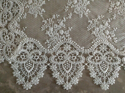 """Lace Doily 16"""" Neutral Burlap Natural Taupe Antique Ivory Victorian 3"""