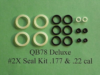 QB78 XS78 TH78 Two (2) Complete O-Ring Reseal  Seal Kits  .177 &  .22 cal. 2