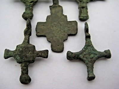 ANCIENT CROSS Viking Roman Kievan Rus 10-12 century AD 8