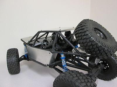 Integy 1//10 Axial Racing RR10 Bomber Aluminum Body Panel Kit Red