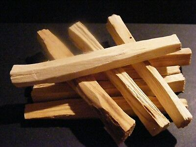 Palo Santo Sacred Wood🌕 Organic Incense Sticks X 8 +1 Free = 9 + Pouch+ Charm 3