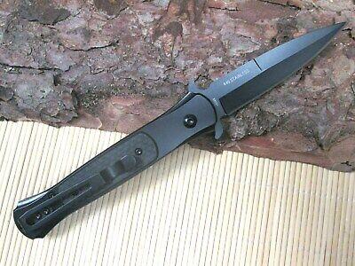 Springmesser Blackfield Carbon Klappmesser Einhandmesser Automatik Messer 88031 3