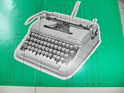 Instructions typewriter OLYMPIA SM 5 - CD / Email 2