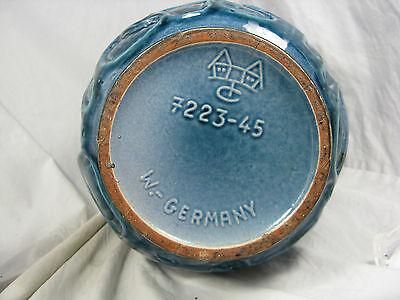 "Rare / seltene 60´s design Carstens "" Relief ""  Keramik pottery Vase  7232 - 45"