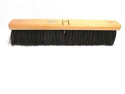 """Nos! Magnolia 18"""" A-Line Floor Brush Black Plastic 3"""" Bristles #5618-A 2"""