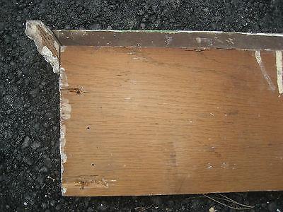 """VICTORIAN golden oak window door CASING molding header & pilaster set 40"""" x 61"""" 11"""