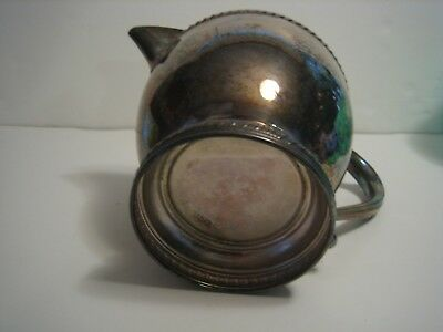 PITCHER, Silver-plated 4