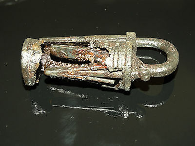 Superb Viking Iron  padlock. c 800-1000 AD 3