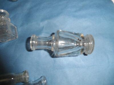 24123 14x Apothekenflasche 5-12cm pharmacy bottle Formgeblasen