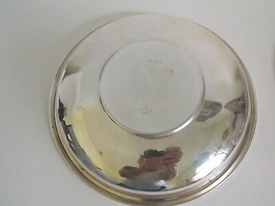 "Vintage By Towle Solid Sterling Silver Plate,  9""   326 Grams 3"