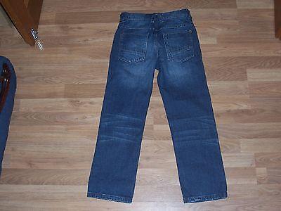 next boys dark blue jeans adjustable waist age 10 years 2