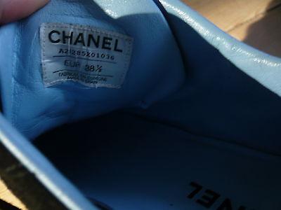 CHANEL SNEAKERS T 38.5 baskets femme cuir daim noir SUPERBES ! - EUR ... a89a97c91d7