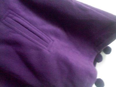 2c2037cc973f8 ... CAPE Enfant polaire à Capuche violet prune douce fille 8 ans T 126  purple A NEUF