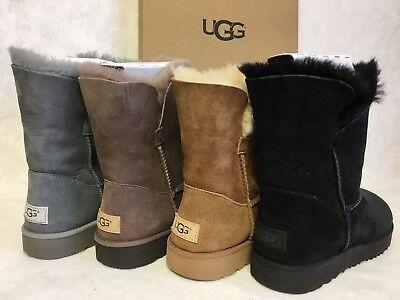 ff0bacf08b8 UGG AUSTRALIA CLASSIC Cuff Short 1016418 Sheepskin Suede Boots Women's Shoes