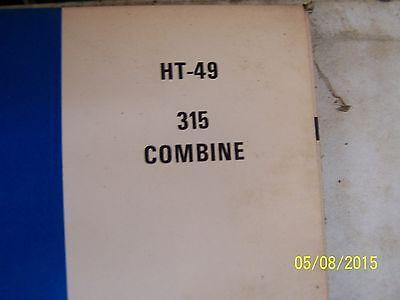 International  315 Combine Parts Manual 2