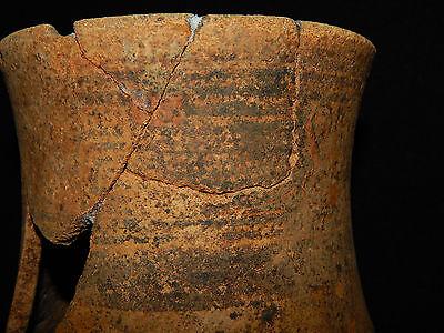 Pre-Columbian Pedestal Urn, Chimney Pot,Polychrome, Nicoya, Very Large 4