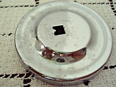 "Toothbrush Holder Brass 4"" Across Cup Holder Wall Mount Hardware Included Used 3"
