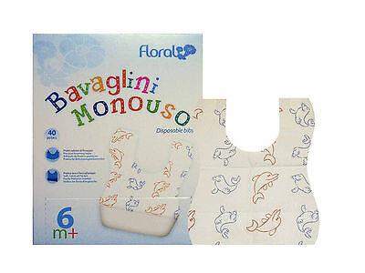 Esslätzchen Einmal- Einweg- PE / Papier Lätzchen Erw. o. Baby Schutzservietten