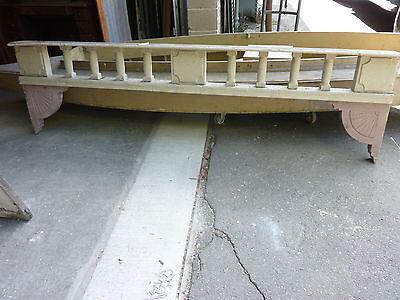 c1882 VICTORIAN GINGERBREAD porch spandrel FRETWORK pediment ~ FANCY 90.5 x 25.5 2