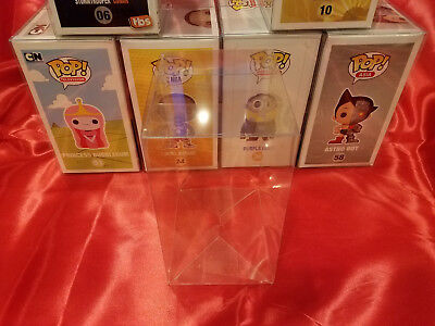 100 FUNKO POP! PROTECTORS PREMIUM QUALITY 0.40mm THICK! Crystal Clear! Acid-Free 6