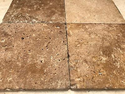 PIASTRELLE - MOSAICO in pietra travertino noce per rivestimenti FINE ...