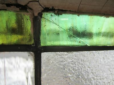 ~ Antique American Stained Glass Window Arts & Crafts ~ Architectural Salvage ~ 4