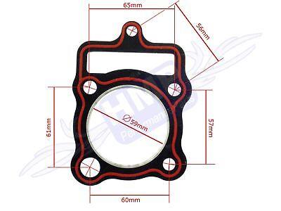 HMParts Motordichtsatz Motordichtungssatz Lifan 125ccm Dirt Bike Quad