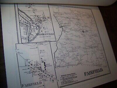 1868 Herkimer County Ny Atlas Map Fw Beers Little Falls Warren Ohio 1977 Reprint 9