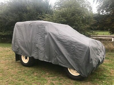 Land Rover Series 1-3 Heavy Duty Cover, Scratch Proof, Waterproof, 4 Layers 5