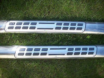 Schwellerrohre Range Rover EVOQUE Edelstahl Seitenschweller Rohre Trittbretter