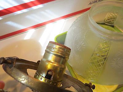Antique  Brass Wall Light Sconce Light Fixture Gas 9