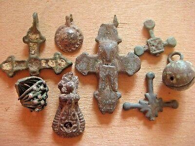 ANCIENT CROSS Viking Kievan Rus 10-12 century AD 12