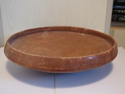 LARGE HOLY LAND EARLY BRONZE AGE TERRACOTTA PLATTER c. 3000 BC 2