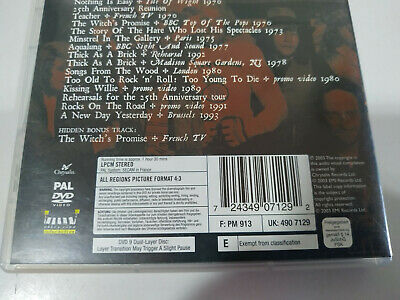 Jethro Tull a New Day Yesterday 1969-1994 - 25TH Anniversary Collection - DVD Am 4