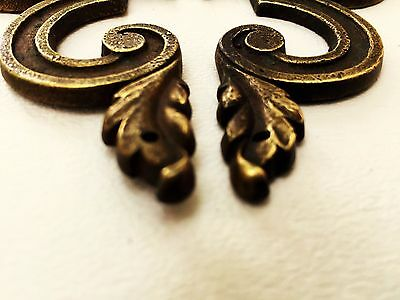 Mid Century Modern French Provincial hardware antique drawer pull Cabinet Knob 2