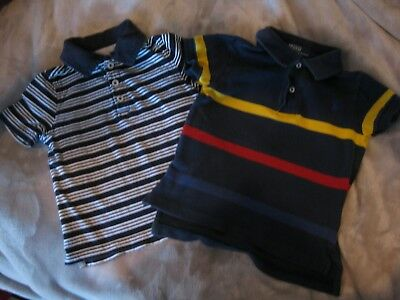 Adorable Lot of 2 Boys' Ralph Lauren and Old Navy Short Sleeved Shirts - Size 2T 3