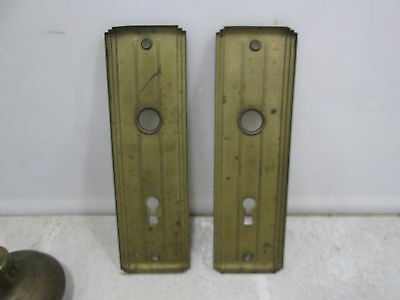Vintage Art Deco Style Backplates and Knobs 6