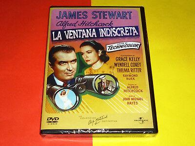 LA SOGA + LA VENTANA INDISCRETA / ROPE + REAR WINDOW -DVD R2- Precintada 2