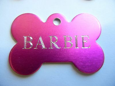 Custom Engraved Personalized Pet Tag Id Dog Cat Name Tags Double Side 5