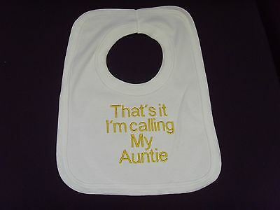 Funny Embroidered Personalised Bib Baby Accessories Shower Gift Looks From Mummy
