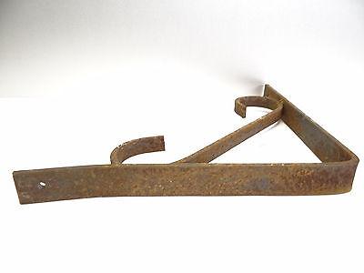 Vintage Steel Corner Bracket Plant Hanger Hook Decorative Architectural Hardware 7
