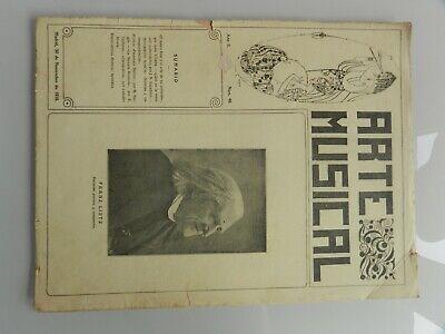 Antiguas Partituras Musicales 1916 2