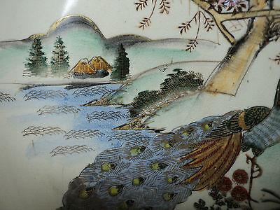 19th C. ANTIQUE JAPANESE SATSUMA POTTERY BOWL, MEIJI PERIOD (1868-1912) 6
