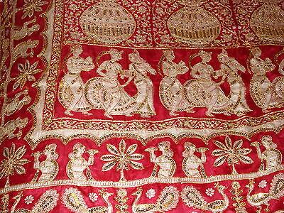 Ladies Indian Pure Silk Saree With Zari Work 12