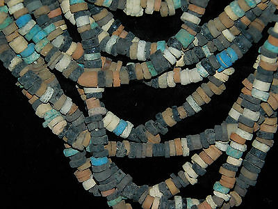 ANCIENT EGYPTIAN 10 strands MUMMY BEADS 6