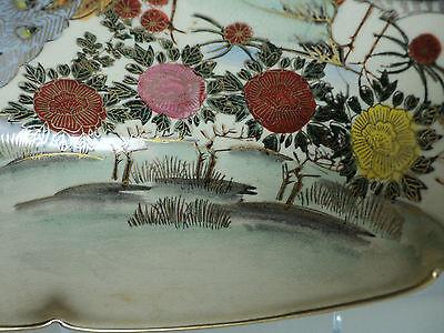 19th C. ANTIQUE JAPANESE SATSUMA POTTERY BOWL, MEIJI PERIOD (1868-1912) 5