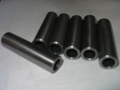 "Steel Bushing  /Sleeve    5/8"" OD x 3/8"" ID x 6"" Long 1 Pc  CDS DOM 2"