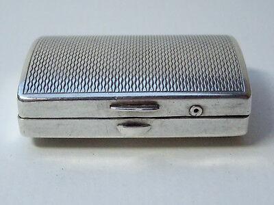 Alte Pillendose Schmuckdose Silberdose 925 Silber Pillbox Box Dose Schnupftabak