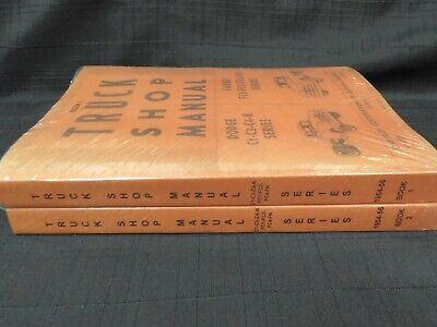 1954 1955 1956 DODGE / FARGO Truck Shop Service Manual CDN NEW Repro RARE 2
